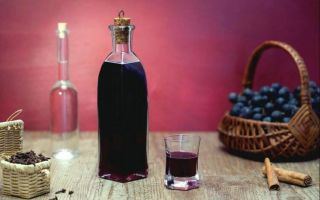 Виноградный ликер своими руками