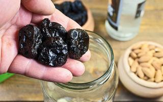 Простые рецепты настоек на черносливе в домашних условиях