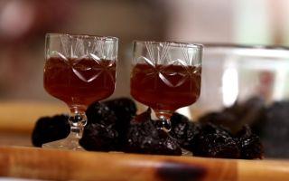 Домашний коньяк из водки с черносливом