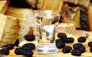 Самогон из шелковицы или тутовая водка своими руками