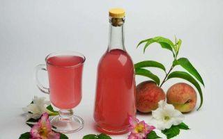 Готовим персиковый ликер в домашних условиях