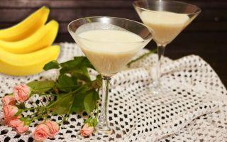 Рецепты бананового ликера и коктейлей на его основе