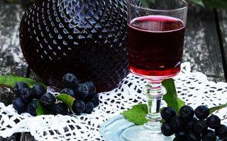 Настойка из рябины черноплодной: простой рецепт в домашних условиях