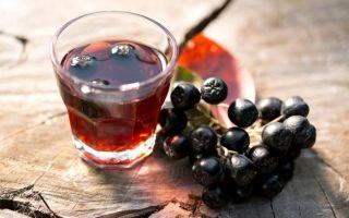 Ликер из черноплодной рябины в домашних условиях: простой рецепт
